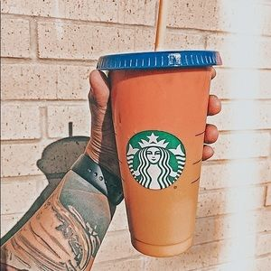 Starbucks Color Changing Reusable Cups